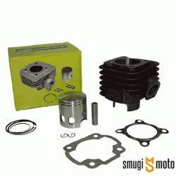 Cylinder Kit Power Force Basic z głowicą 70cc, z tłokiem Vertex, Minarelli leżące AC 10mm