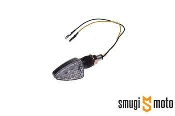 Kierunkowskazy WM LED, krótkie strzałka, carbon (2 szt)