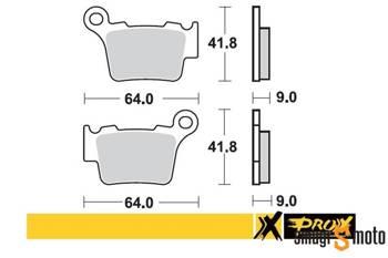 Klocki hamulcowe ProX M81