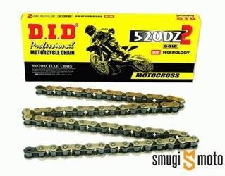 Łańcuch napędowy DID520DZ2 Gold (różne rozmiary)