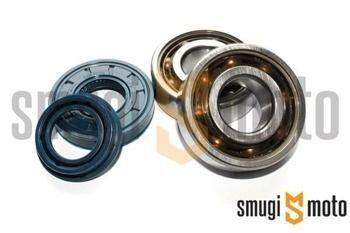 Łożyska wału i uszczelniacze SMG Racing Teflon, Minarelli  (SKF + Corteco)