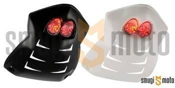 Nadkole MTKT LED Racing z kierunkowskazami, biała lampa, Peugeot Speedfight II (różne kolory)