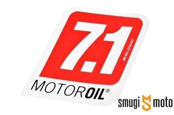 Naklejka Malossi Motor Oil 7.1 85x90mm