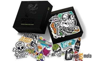 Naklejki StickerBomb Scooter-Attack Limited Edition, 127 naklejek