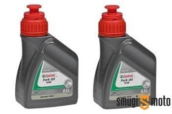 Olej do amortyzatorów Castrol Fork Oil, 500ml (różne lepkości)