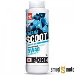 Olej silnikowy Ipone Katana Scoot 4T 5W40 (100% syntetyk) (rózne pojemności)