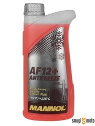 Płyn do chłodnic Mannol AF12+ Longlife, -40stC / +125stC, 1l (różowy)