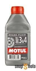 Płyn hamulcowy Motul DOT3 & DOT4, 0,5l