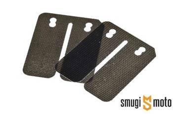 Płytki membrany Malossi Carbon, 0.30mm, Gilera / Piaggio / Minarelli