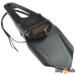 Spojler tylny z lampą LED, czarna, uniwersalny