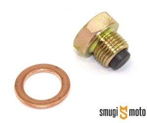 Śruba spustowa oleju z magnesem M12x1,5