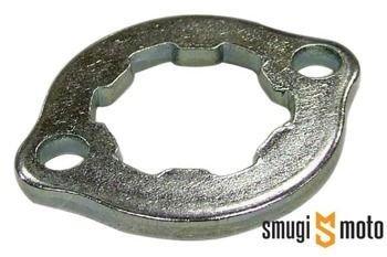 Zabezpieczenie zębatki przedniej 24mm, Derbi GPR / Senda (D50B, do zębatki JTF1128)