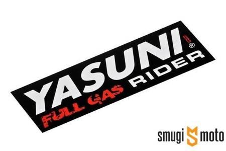 Naklejka Yasuni Full Gas Rider 111x38mm