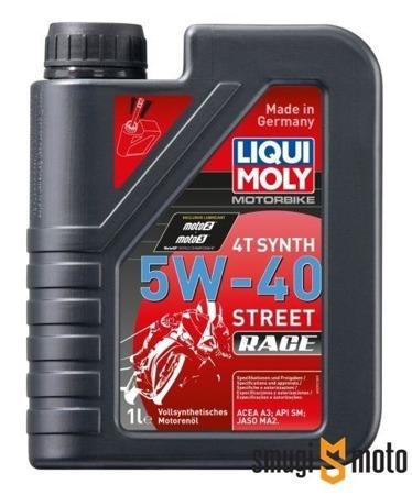 Olej Liqui Moly Synth 5W40 Race 4T 1 litr (100% syntetyk)