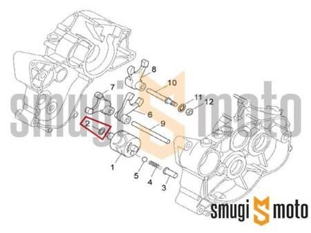 Podkładka wybieraka (programatora) / wałka zmiany biegów, Minarelli AM