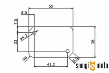 Pokrywa pompy hamulcowej SSP, Nitro / Aerox / Benelli (różne kolory)
