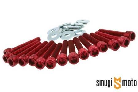 Śruby pokrywy wariatora STR8, Minarelli (różne kolory)