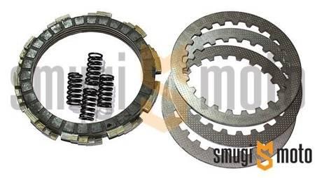Tarcze sprzęgła + przekładki + sprężyny, Minarelli AM
